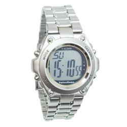 ساعة يد ناطقة معدنية وأنيقة